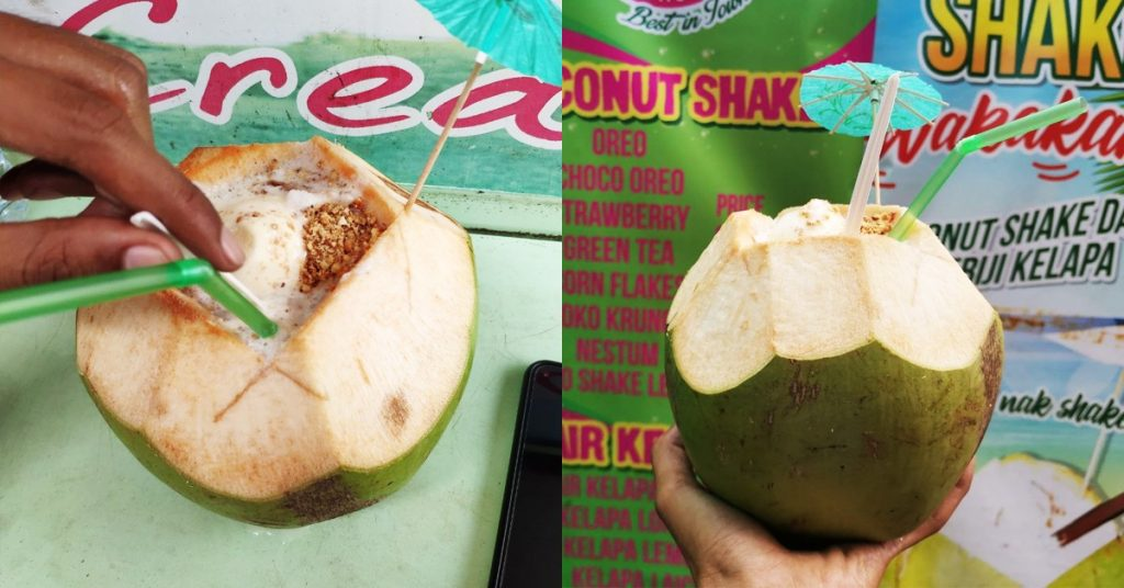 coconutshake temerloh